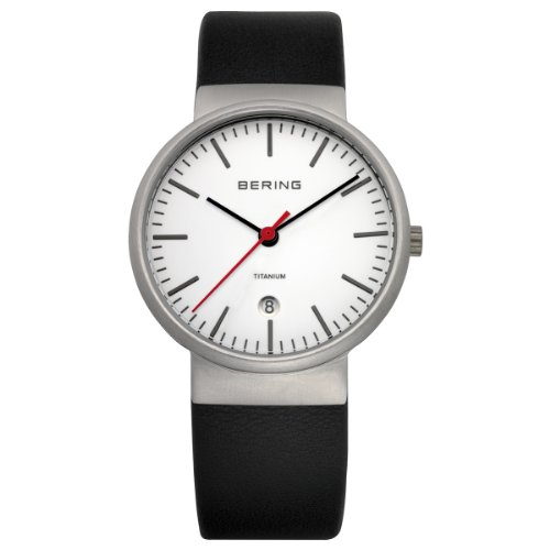 Bering Classic - Reloj analógico de caballero de cuarzo con