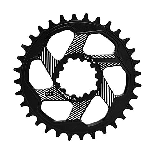 MAATCHH Corona della Bici Accessori per Biciclette a Corona di velocità Singola a Corona di Montaggio Diretto a Corona in Alluminio Ampia Rotonda per SRAM GXP per la Maggior Parte delle Bici