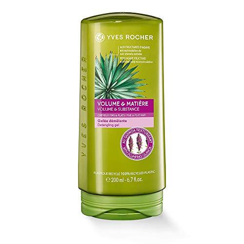 Yves Rocher PFLANZENPFLEGE HAARE Volumen-Spülung, Conditioner für feines Haar, mehr Kämmbarkeit & Struktur, 1 x Flacon 200 ml