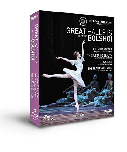 Nussknacker/Dornröschen/Giselle/ The Flames of Paris (Bolshoi Theater)[Blu-ray]