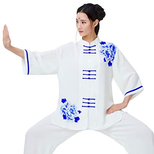 XGYUII Unisex Tai Chi Kleidung Baumwolle...