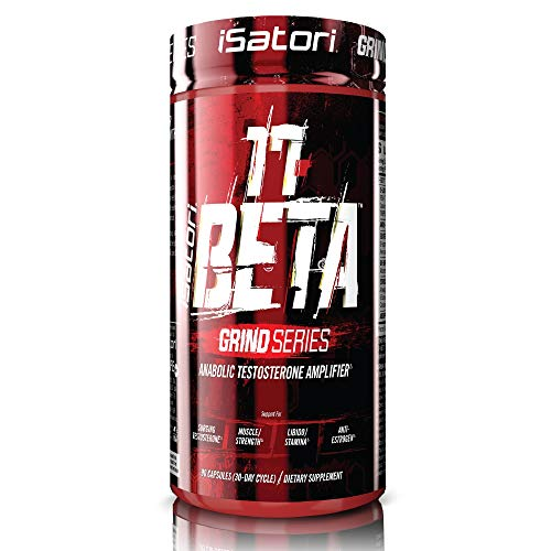 iSatori 17 Beta Testosterone Amplifier With DHEA And Anti-Estrogen Complex For Muscle Growth, Strength Training, Workout Stamina - Vegetarian (90 Capsules)