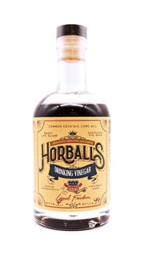 Horball's Drinking Vinegar - Liquid Freedom Shrub - Handcrafted mixer for cocktails, sodas, and waters (12oz)
