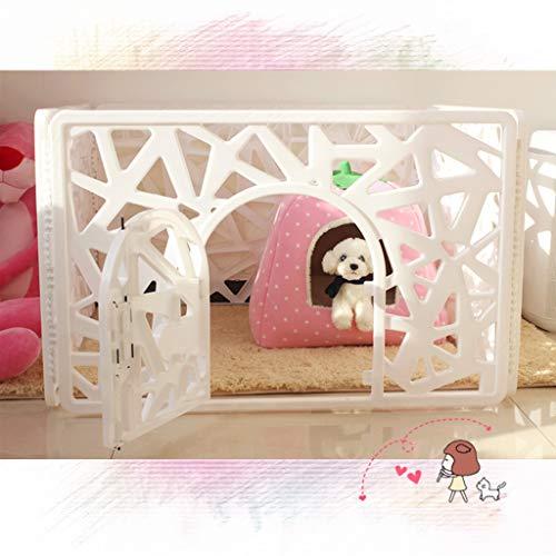 Clôture pour animaux de Compagnie, clôture pour Chien La Cage pour Chien Teddy fournit Une clôture intérieure pour Petit Chien