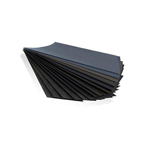 Sandpaper,Assorted Grit Sandpaper for Wood Furniture Finishing, Metal Sanding and Automotive Polishing, Dry or Wet Sanding, 9 x 3.6 Inch, 14-Sheet