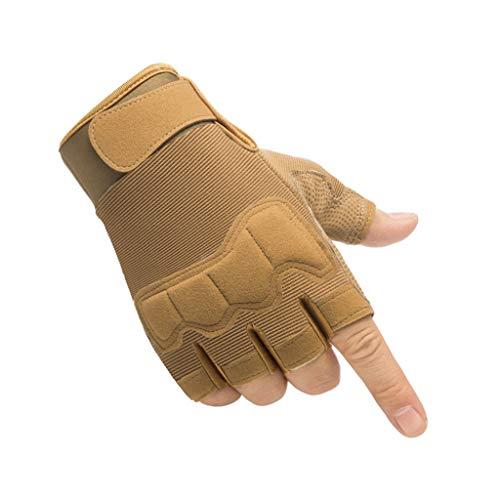 Guantes de invierno para hombre, de camuflaje, sin dedos, para disfrazarse, conducir, correr, esquiar, ciclismo, camping, etc.