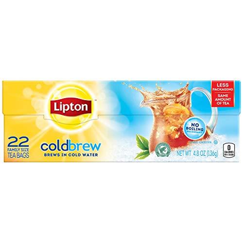Lipton, Cold Brew Family Size Iced Tea Bags