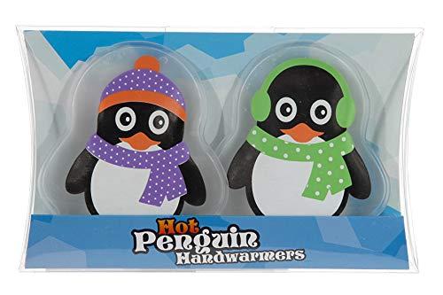 Taschenwärmer Pinguin (2er Set) - Wichtelgeschenk, Handwärmer, Taschenheizkissen