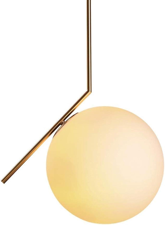 Nordic Glas Pendelleuchte, Modernes minimalistisches Schlafzimmer Nacht Wohnzimmer Deckenleuchte, Kreative Korridor Gang Dekoration Kombinations Kronleuchter + Wandleuchte ( Design   Pendant light )