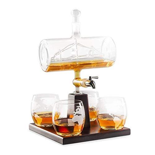TONGSH Luxury Decanters Whiskey