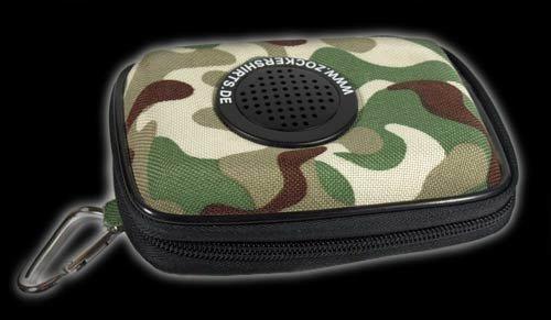 Tasche ZockerShirts Survival Kit Tasche+Lautsprecher f. iPod und MP3