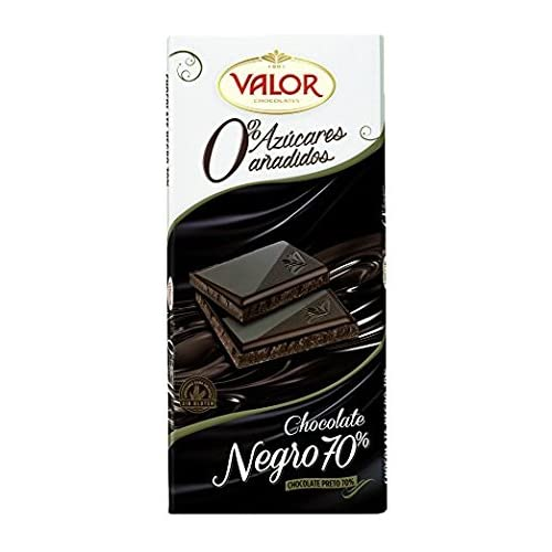 Valor Chocolate Negro de 70% Cacao - 125 g