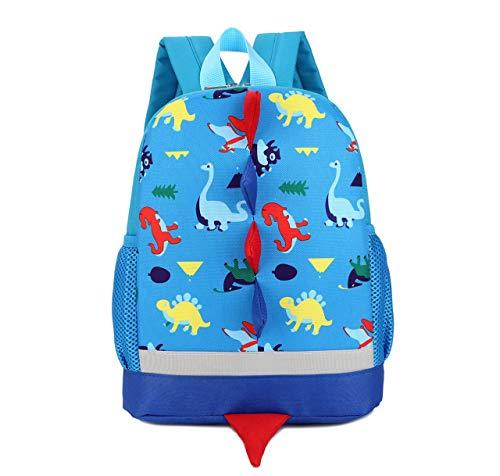 3D Dinosaurios Mochila para Niños Infantil Guarderia Mochila Escolar Lindo Animal La Mochila Azul