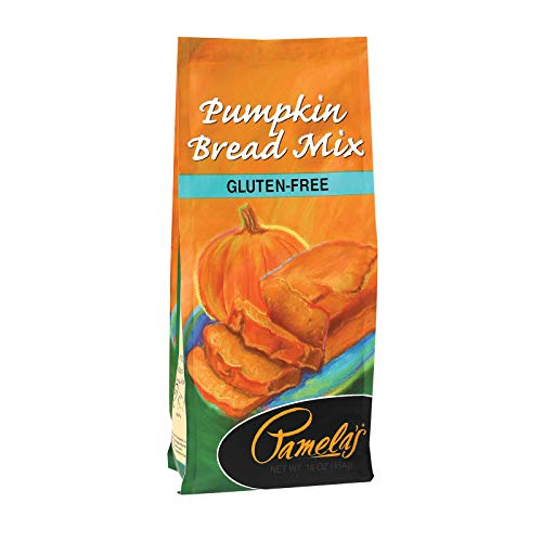 Pamelas Pumpkin Bread Mix, 16 Ounce - 6 per case.