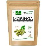 MoriVeda® - 120 Moringa Energia compresse 950mg o Moringa capsules 600mg - Oleifera, vegan, Prodotto di qualità (1X120 Compresse)