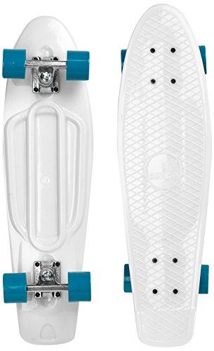 Ridge Skateboard Big Brother Nickel 69 cm Mini Cruiser, Glow/blau