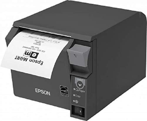Epson TM-T70II Thermobondrucker, USB, WLAN, dunkelgrau, inkl. NT (C31CD38024A2)