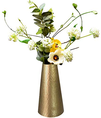 Brass Flower Vase - 1
