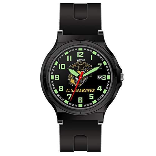 Aquaforce Reloj analógico con logo de los marinos de los EE. UU.