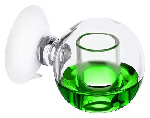 Measury CO2 Dauertest Aquarium \'Orb\' - Made in Germany 30 ml Testflüssigkeit 20 mg/l, CO2 Test Drop Checker, CO2 Tester