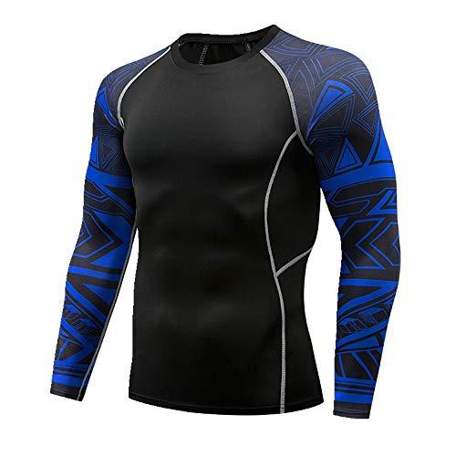 Preisvergleich Produktbild NOBRAND Elastischer schweißabsorbierender Fitnessanzug,  T-Shirt für Herren Gr. XXL,  Farbe: 118