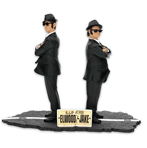 Close Up The Blues Brothers Figurenset Elwood & Jake Blues, 2 Figuren je 17cm aus Kunststoff