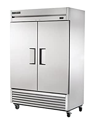 """True T-49F-HC Reach-in Solid Swing Door Freezer with Hydrocarbon Refrigerant, Holds -10 Degree F, 78.625"""" Height, 29.875"""" Width, 54.125"""" Length"""