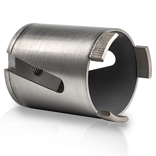 Rendech® Bohrkrone 68mm in Profi Qualität - Dosenbohrer für Beton, Stein, Mauerwerk uvm. Diamant Dosensenker perfekt für Steckdosen