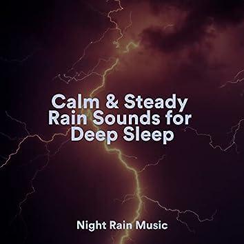 Calm & Steady Rain Sounds for Deep Sleep