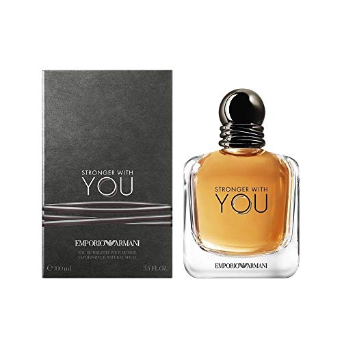 Emporio Armani Stronger With You Homme Eau de Toilette – 100 ml,...