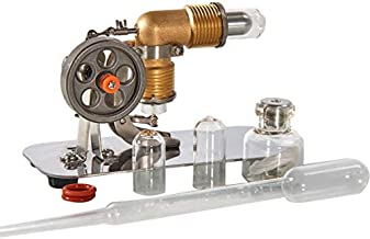 Sunnytech Mini Hot Air Stirling Engine Motor Model Educational Toy Kits Electricity HA001