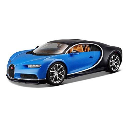 ブラゴ Bburago 1/18 ブガッティ スーパーカー シロン Bugatti Chiron レース スポーツカー ダイキャストカー Diecast Model ミニカー [並行輸入品]