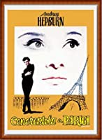 ポスター アーティスト不明 オードリー・ヘプバーン パリの恋人 額装品 ウッドハイグレードフレーム(ナチュラル)