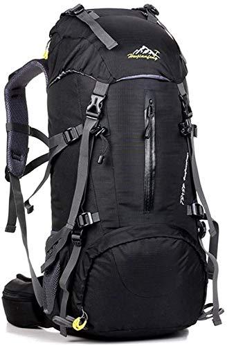 UCSLIFE - Mochila de senderismo, color 45L+5L black