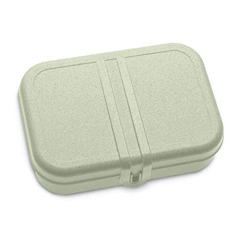 Koziol Pascal L Lunchbox, Brotdose, Butterbrotdose, Frühstücksdose, Vesperdose, Proviantdose, Organic Grün, L