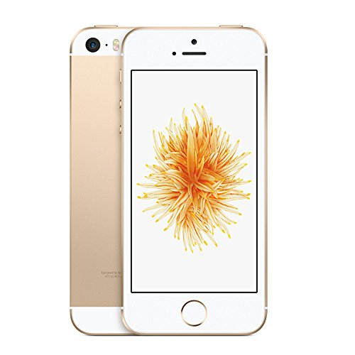 Apple iPhone SE, 64GB, Gold - For AT&T / T-Mobile (Renewed)