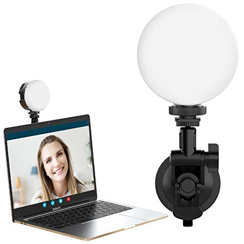 Zoom Lighting for Computer VIJIM Laptop Light for Video Conferencing, LED Webcam Light for Zoom Meetings, Video Calls, Remote Working, Self Broadcasting and Live Streaming