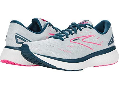 Brooks Damskie buty do biegania Glycerin 19, Ice Flow Navy Pink - 42 EU