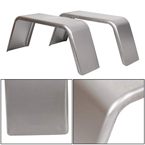 ECOTRIC Square Trailer Fenders for 14'-16' Wheels-One Pair