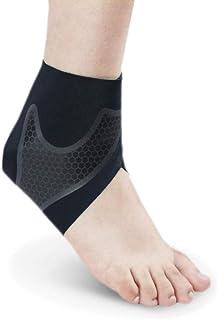DHDHWL Supporto alla Caviglia Regolabile di Super Elastica,Sport Cavigliera Supporto Cavigliera Cotone Comfort Anti Distorsione Basket Calcio Calcio Sicurezza 2 Pezzi