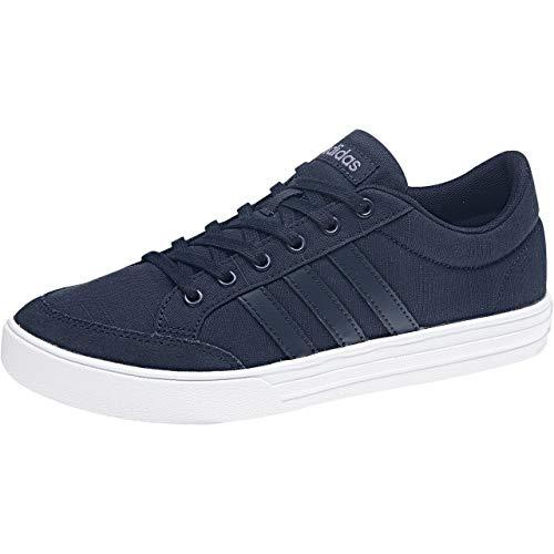 adidas Vs Set, Zapatillas de Tenis para Mujer, Azul (Conavy/Conavy/Rawind 000), 36 EU