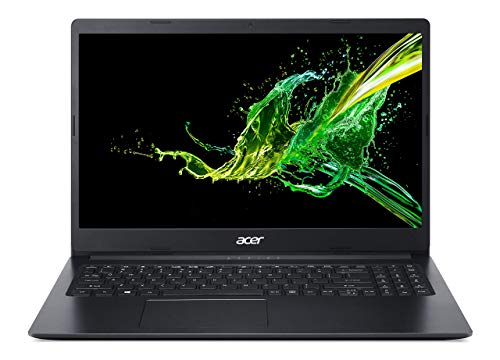 """Acer Aspire 1 A115-31-C2Y3, 15.6"""" Full HD Display, Intel Celeron N4020, 4GB DDR4, 64GB eMMC, 802.11ac Wi-Fi 5, Up to 10-Hours of Battery Life, Microsoft 365 Personal, Windows 10 in S mode (Renewed)"""