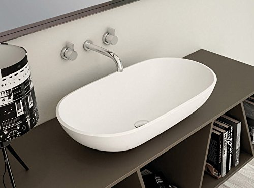 Planit countertop basins Concave on top sink in Corian CONCAVE3