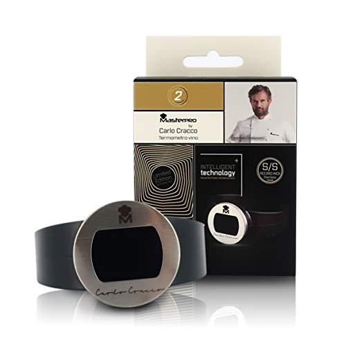 Weinthermometer, Temperaturmessband für Weinflaschen und Champagner, Linie Masterpro