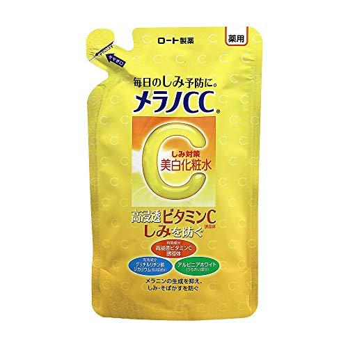 【医薬部外品】メラノCC薬用しみ・そばかす対策美白化粧水詰替用170mL