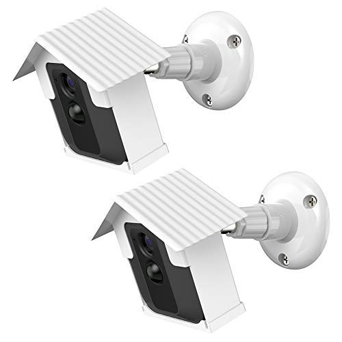 HOLACA Camera Wall Mount Bracket,Weather Proof 360 Degree Protective...