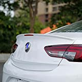 ABS Car Alerón trasero para Buick Shelf Opel Insignia New Spoiler 2017 2018 2019, Rear Trunk Techo Spoiler Lip Wing Accesorios Estilo AutomóVil Exterior