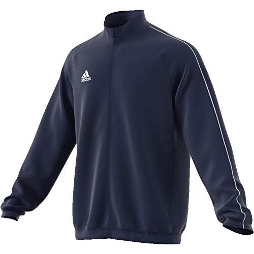 Adidas CORE18 PRE JKT Chaqueta de Deporte, Hombre, Azul (Azul/Blanco), XL