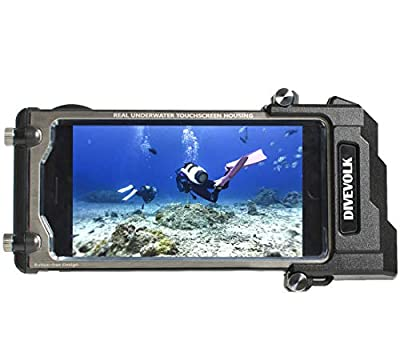 DIVEVOLK Underwater camerea Diving case compatiable with iPhone 6/7/8/ Plus/X/XS/XS Max,Perfect iPhone Diving Case for Swimming Snorkeling from DIVEVOLK