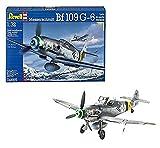 Revell Messerschmitt Bf109 G-6 Late & Early Version, Kit de Modelo, Escala 1:32 (4665)...